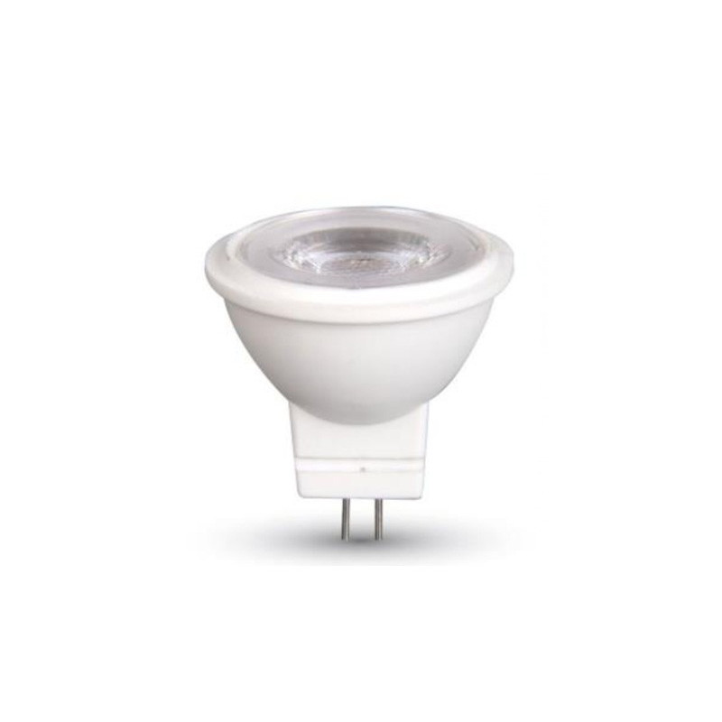 SPOTLED - Spot à LED 7W Culot GU5.3 (mr16) Blanc chaud Effet loupe