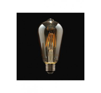 Ampoule LED à filament Forme Originale Aubergine 4W Culot E27 Blanc chaud