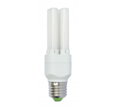 Tubeled - Ampoule à tube en verre - culot E27 - verre opaque - 8W - Blanc froid