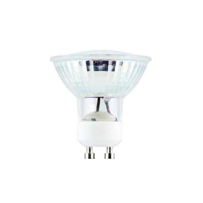 SPOTLED - Spot à LED en verre 5W Culot GU10 Blanc chaud - Dimmable
