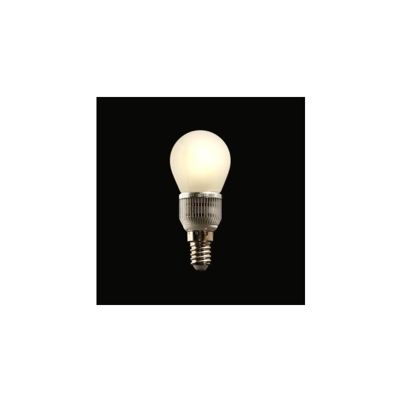 Ampoule LED Miranled Boule 5w Culot E14 Lumière chaude