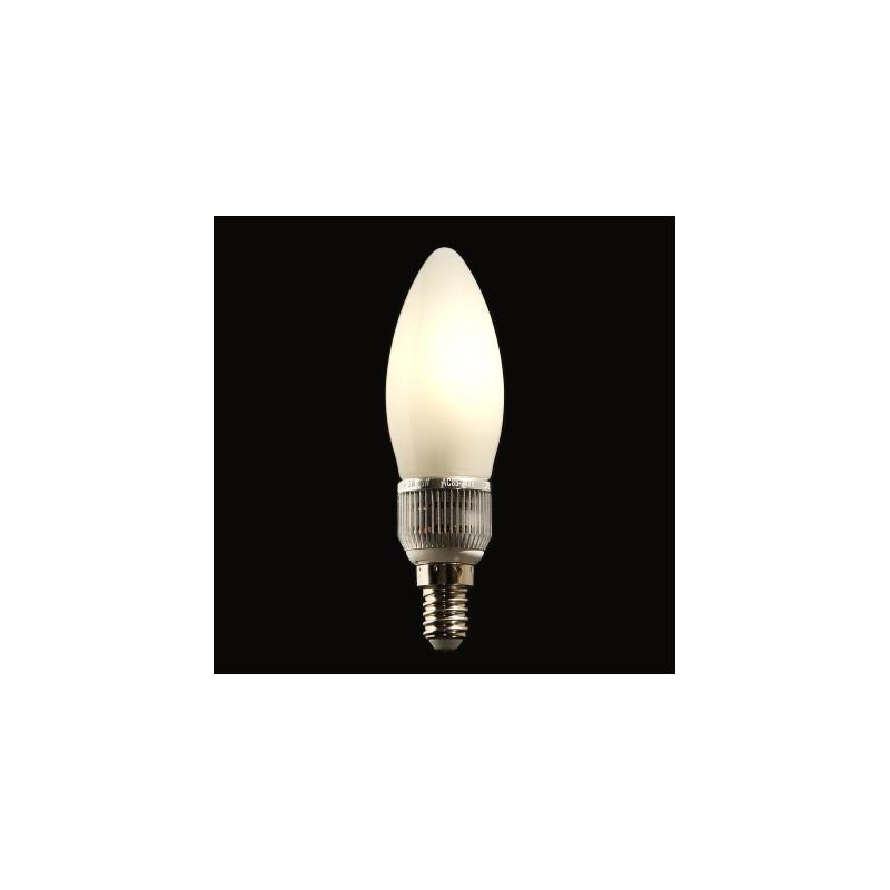 Ampoule LED Miranled Flamme 5w Culot E14 Lumière chaude