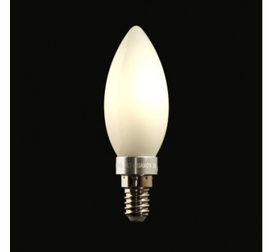 Ampoule LED Miranled Flamme 3w Culot E14 Lumière chaude