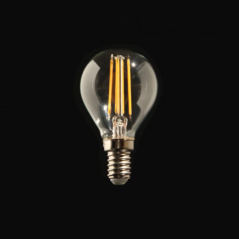 Ampoule LED Filament 4W Culot E14 lumière chaude