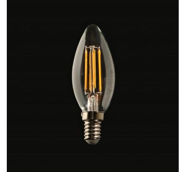 Ampoule LED à Filament Flamme 4W E14 lumière chaude