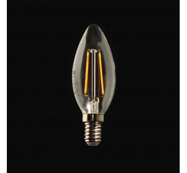 Ampoule LED à Filament Flamme 2W E14 lumière chaude