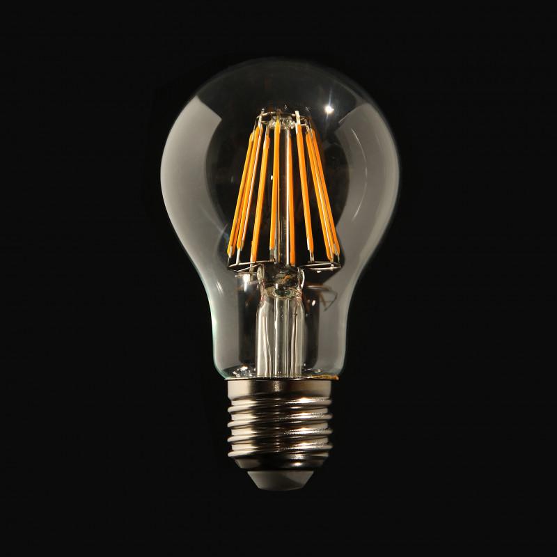Ampoule LED à Filament boule 8W E27 lumière chaude