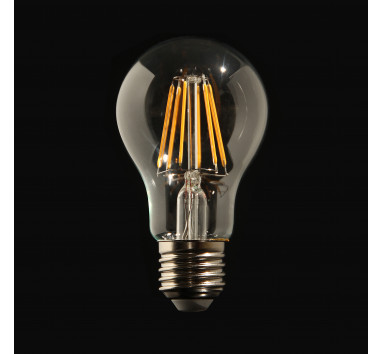Ampoule LED à Filament boule 6W E27 lumière chaude